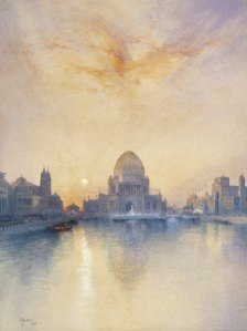 Brooklyn_Museum_-_Chicago_World's_Fair_-_Thomas_Moran_-_overall
