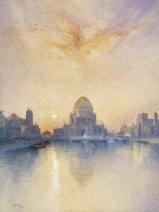 Brooklyn_Museum_-_Chicago_World's_Fair_-_Thomas_Moran_-_overall