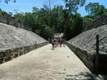 Ballcourt at Coba, the Yucatan, Mexico. © 2013 DMSA