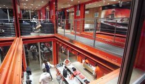 Interior of PUMA CITY