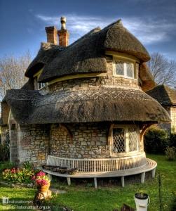House number 8, Blaise  Hamlet, England aka Circular Cottage