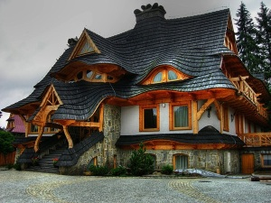 House in Zakopane, Poland