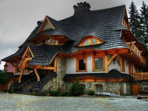 House in Zakopane, Poland