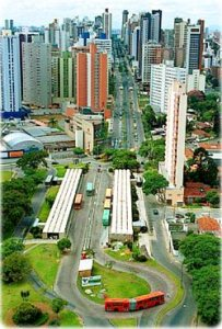 Curitiba, Brazil widely regarded as the world's first and largest experiment in sustainable urbanism.